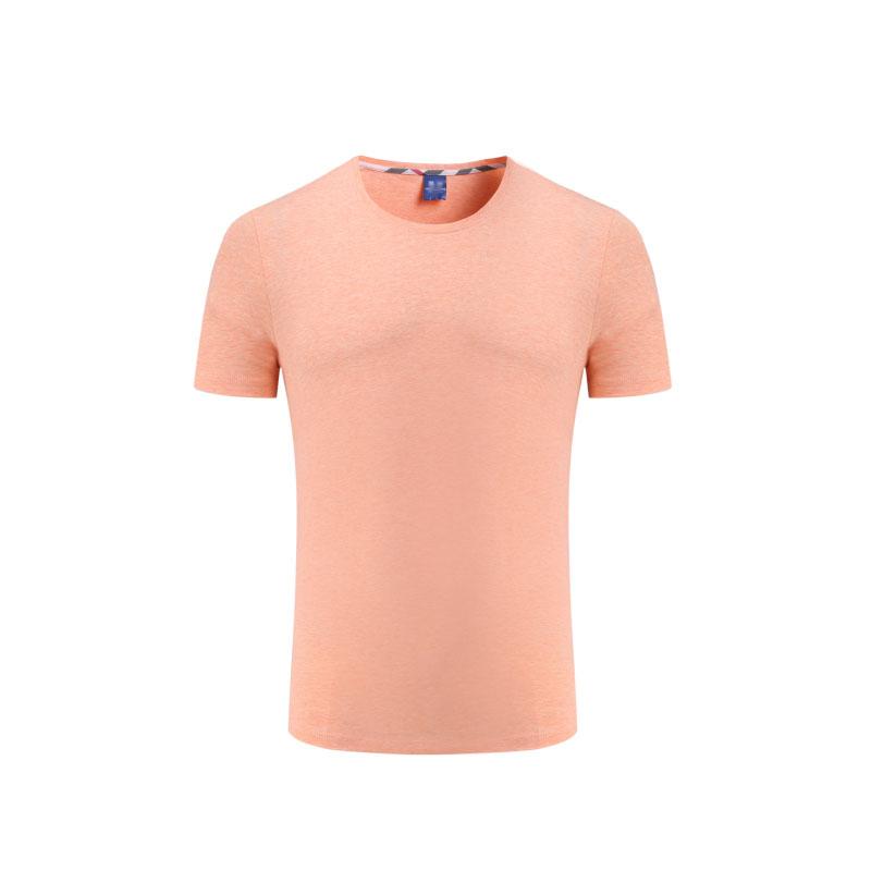 8001#彩棉班服定制t恤同學聚會衣服文化衫diy工作服廣告衫定做短袖工衣印字