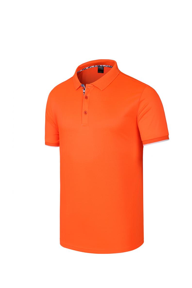 新款A123NBA速干翻領(通款)速干t恤定制畢業班服廣告文化polo衫短袖diy工作衣服訂做logo印圖