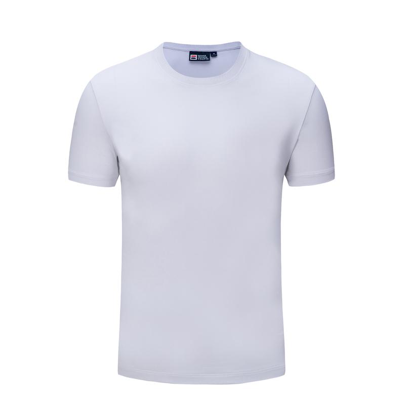8006#新蘭棉工作服廣告衫文化衫短袖班服定制t恤印logo定做體恤diy衣服印字