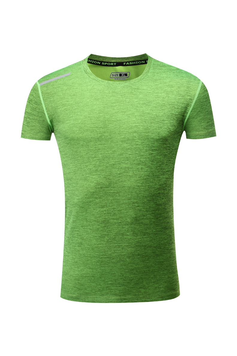 7115陽離子(通款)短袖T恤男夏季男士戶外運動休閑薄款透氣冰絲速干衣大碼V領潮