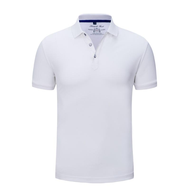 2858#亞麻珠地T恤 定制t恤工作服班服裝廣告文化衫diy印字logo同學聚會短袖polo定做