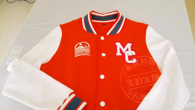 出口澳大利亚棒球服定制卫衣定做班服企业刺绣时装