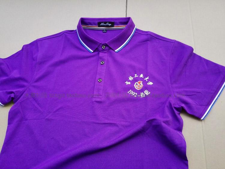 高檔桑蠶絲棉POLO衫,工作服,廣告衫,工作服,翻領T恤定制
