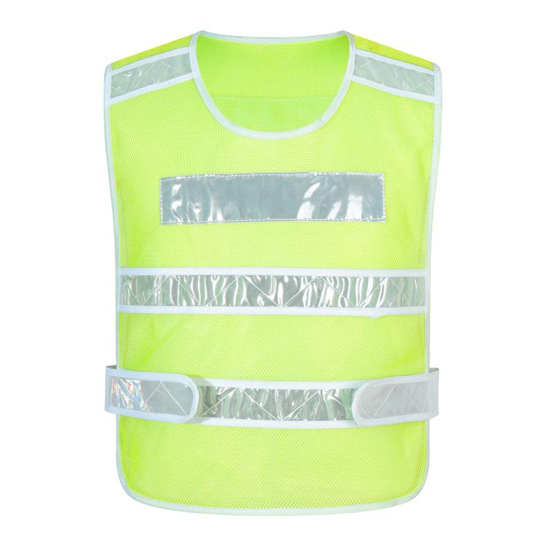 RF017新警察款反光马甲新款反光条马甲订做志愿者定制义工工作服外套印衣服diy背心马夹