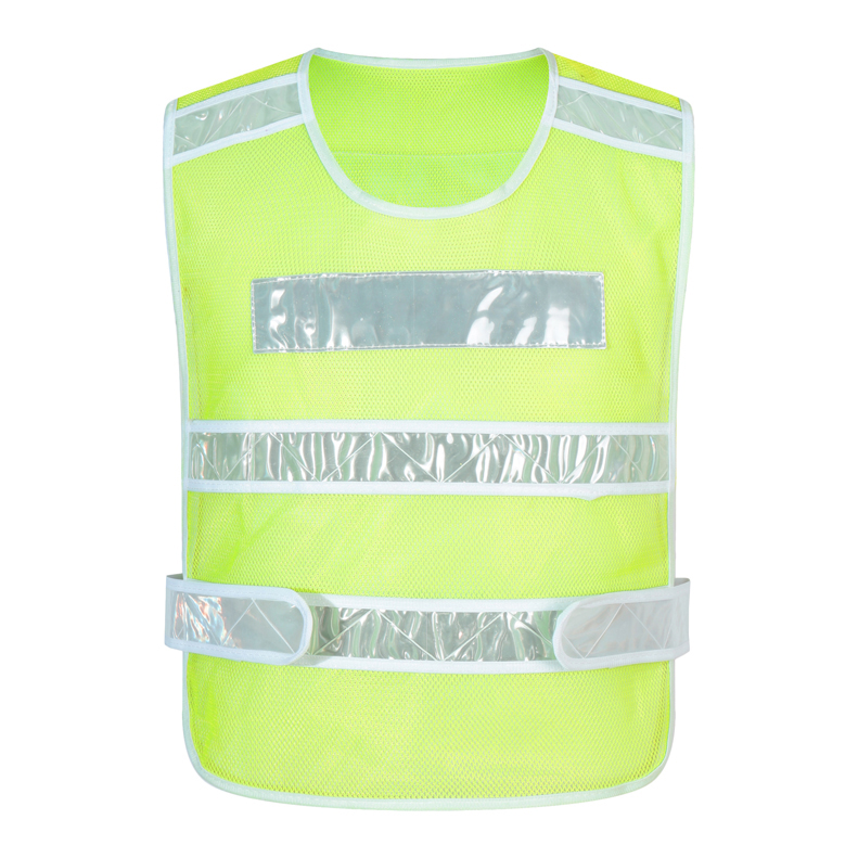 RF017新警察款反光馬甲新款反光條馬甲訂做志愿者定制義工工作服外套印衣服diy背心馬夾